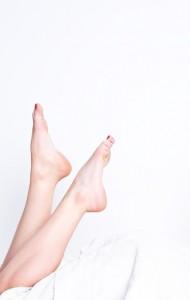 Epilieren bringt Glatte Beine